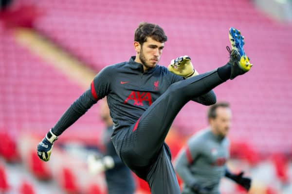 Football – UEFA Champions League – Quarter-Final 2nd Leg – Liverpool FC v Real Madrid CF