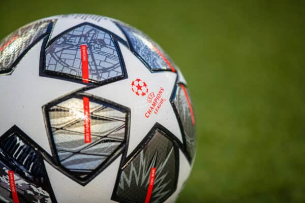 General Champions League ball matchball (Pic by David Rawcliffe/Propaganda)