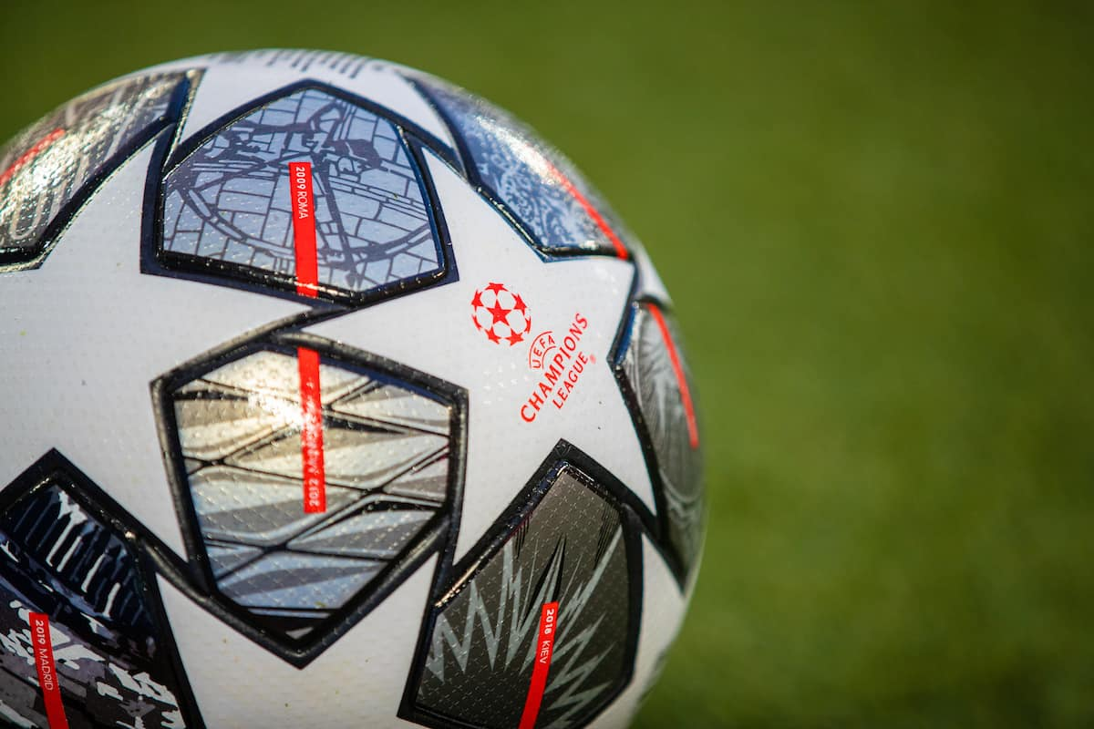 General Champions League ball matchball (Pic by David Rawcliffe/Propaganda)