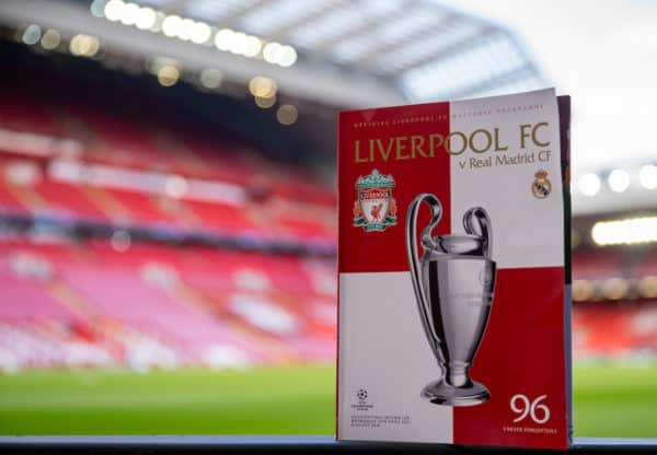 Football – UEFA Champions League – Quarter-Final 2nd Leg – Liverpool FC v Real Madrid CF