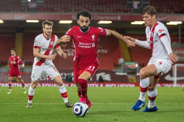 Football – FA Premier League – Liverpool FC v Southampton FC