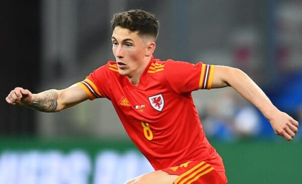 NICE, FRANCE - Wednesday, June 2, 2021: Wales' Harry Wilson during an international friendly match between France and Wales at the Stade Allianz Riviera ahead of the UEFA Euro 2020 tournament. (Pic by Simone Arveda/Propaganda)