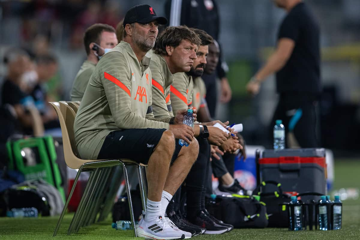 Liverpool's familiar Evian setting for Bologna friendlies