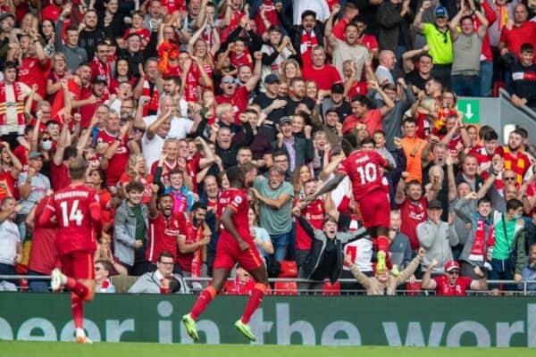 Football – FA Premier League – Liverpool FC v Crystal Palace FC