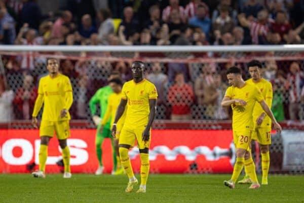 Football – FA Premier League – Brentford FC v Liverpool FC