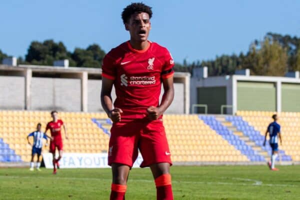 Football – UEFA Youth League – Group B – FC Porto Under-19's v Liverpool FC Under-19's
