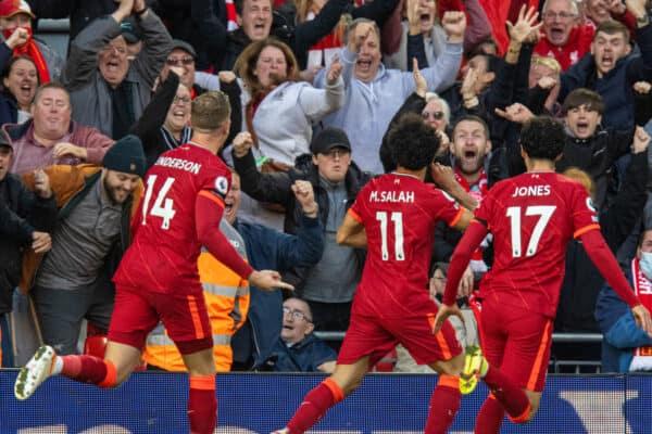 Football – FA Premier League – Liverpool FC v Manchester City FC