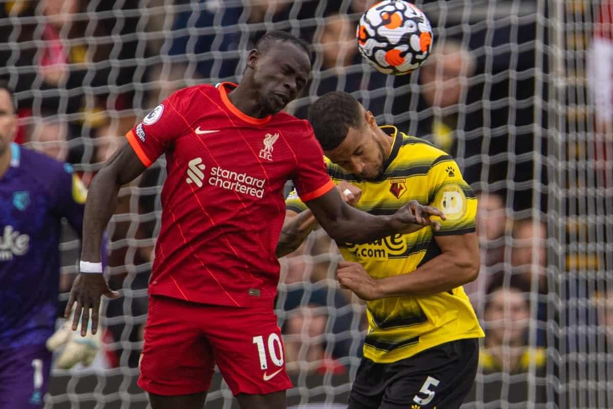 LIVE: Watford vs. Liverpool