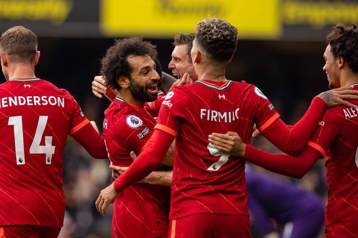 Watford 0-5 Liverpool: Salah with another worldie