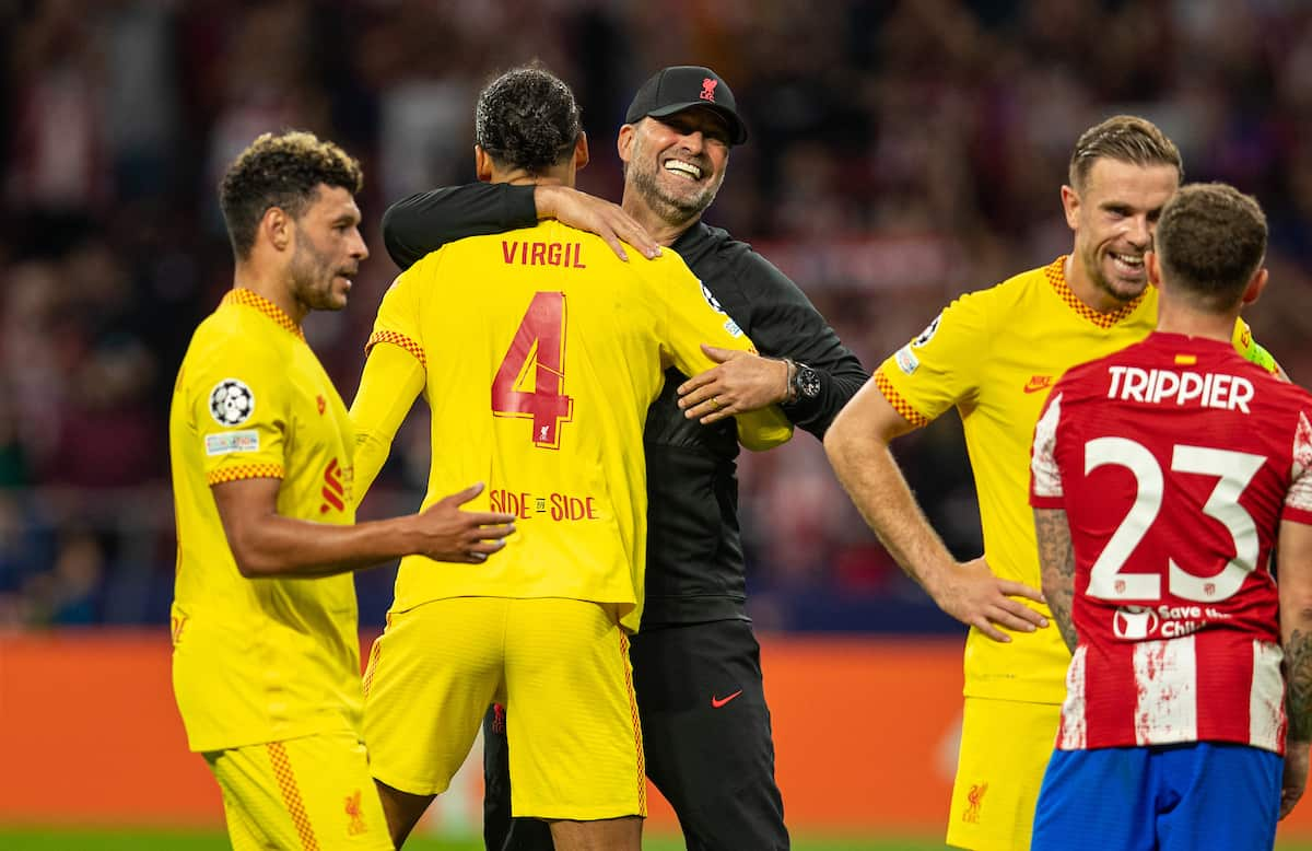 Player Ratings vs. Atletico – What the media and statistics say
