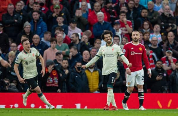 Football – FA Premier League – Manchester United FC v Liverpool FC