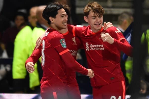 Football – Football League Cup – 4th Round – Preston North End FC v Liverpool FC