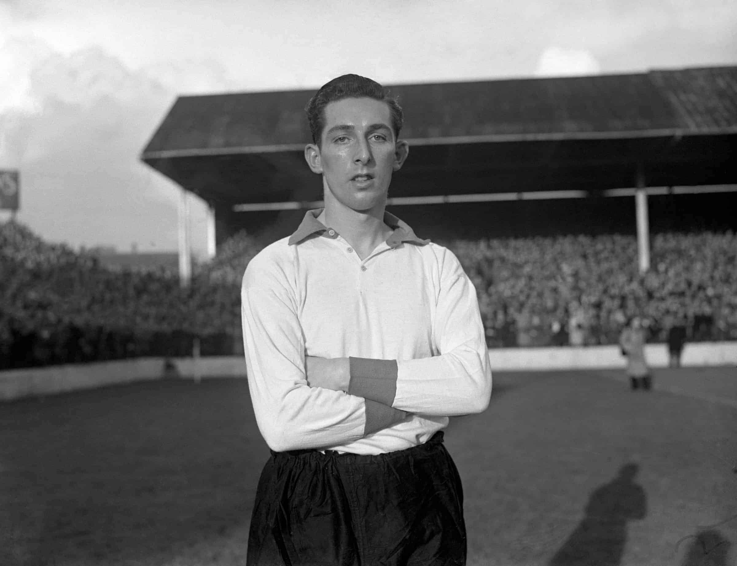 Laurie Hughes, Liverpool, 1949 (C. Arno/S&G and Barratts/EMPICS Sport)
