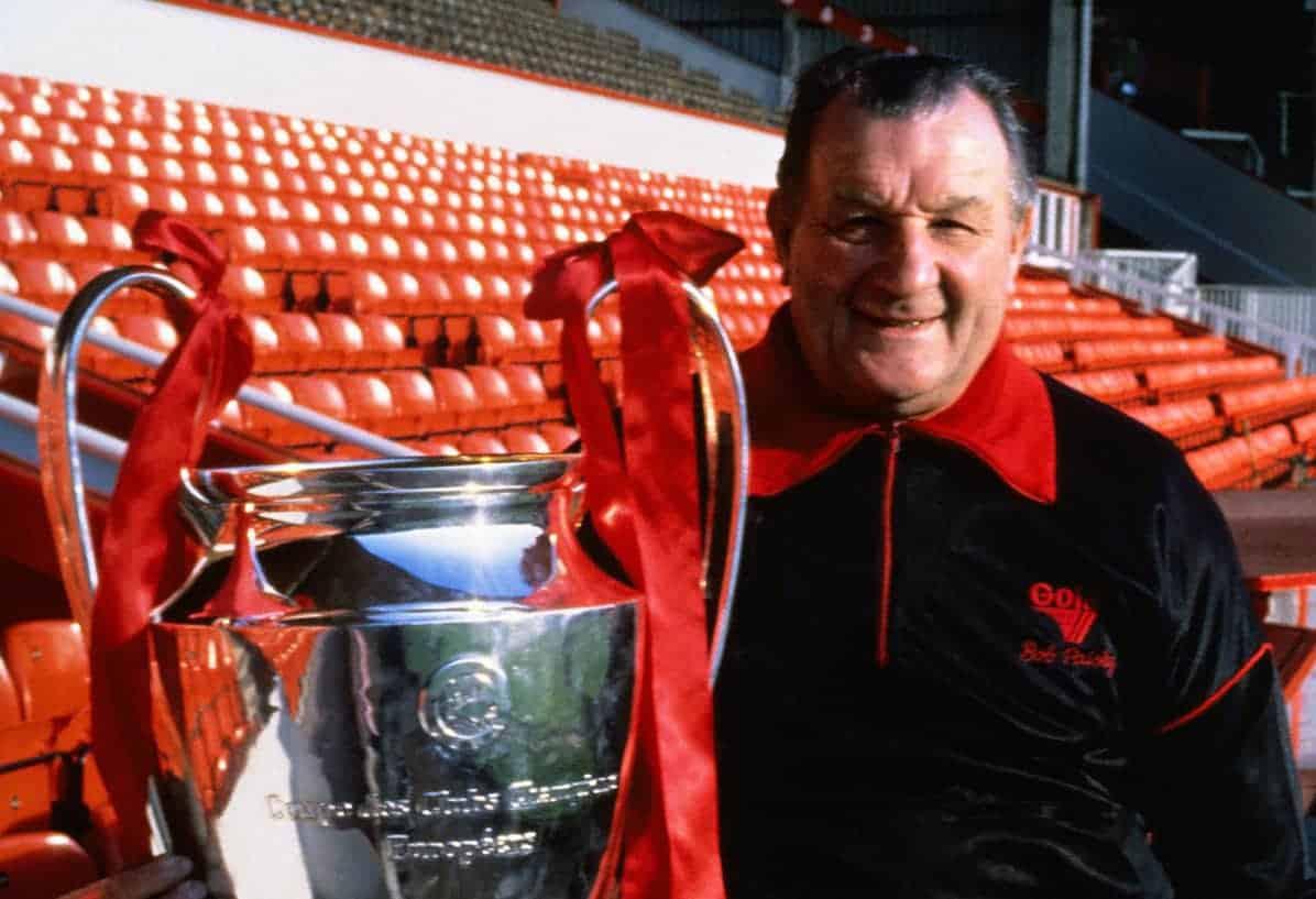 Bob Paisley, Liverpool, European Cup, 1977 (Image: Peter Robinson/EMPICS Sport)