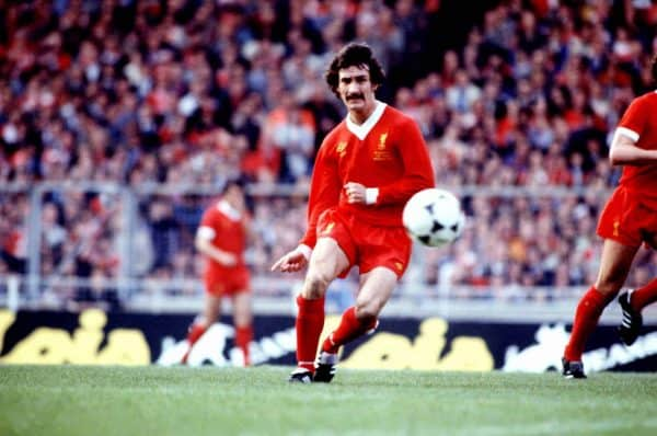 Terry McDermott, Liverpool (Peter Robinson/EMPICS Sport) 10-May-1978
