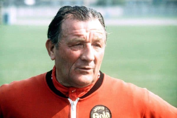 Bob Paisley, Manager - Picture by: Peter Robinson / EMPICS Sport