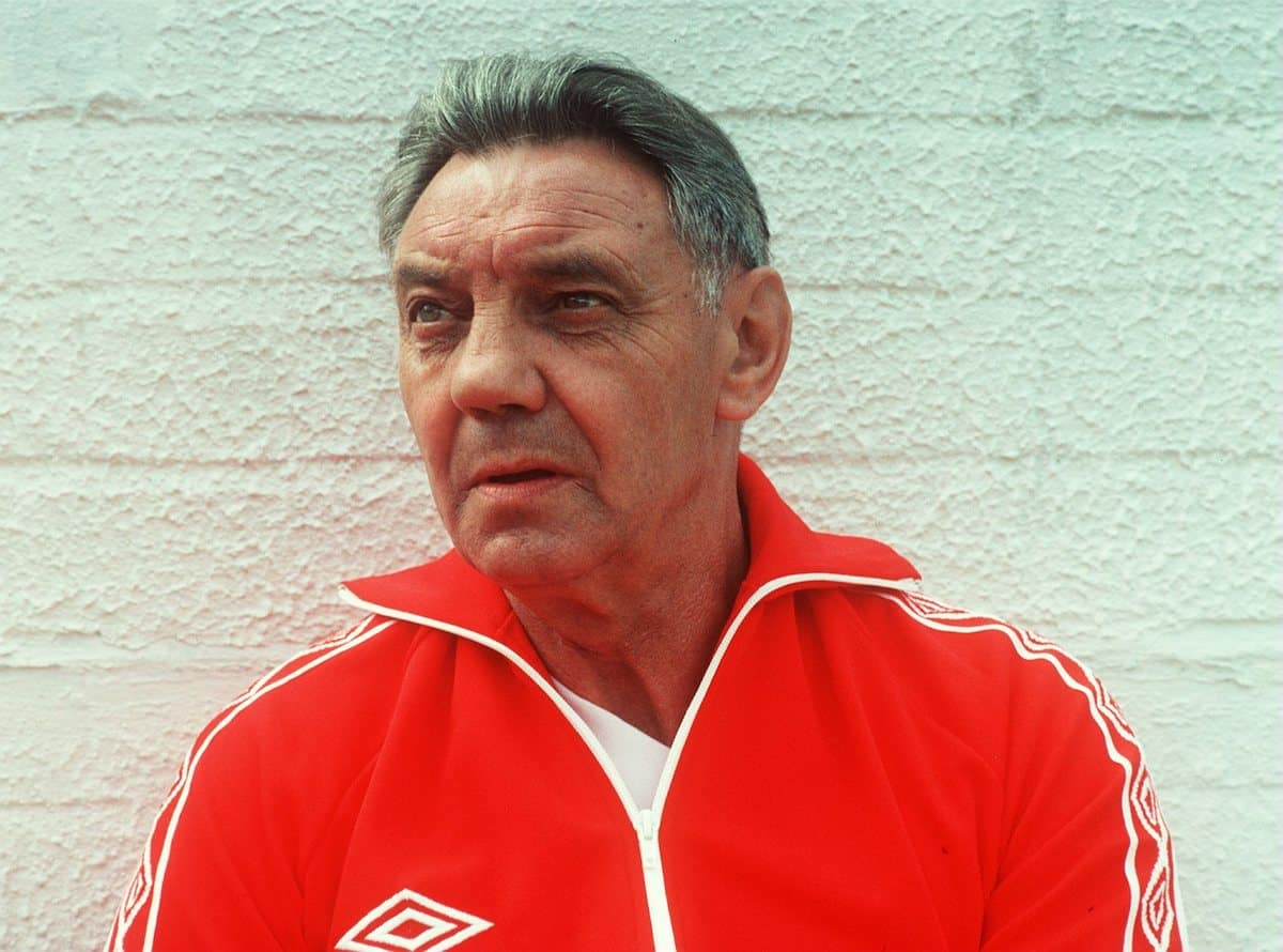 JOE FAGAN, LIVERPOOL manager, 1984 (Bildbyran/Press Association Images)