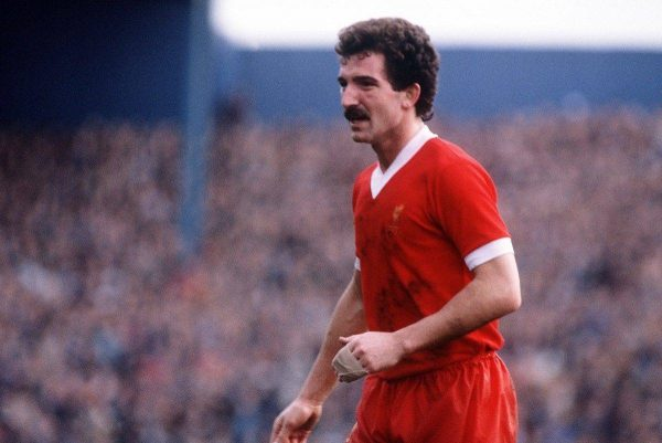 Scotland and Liverpool's Graeme Souness.