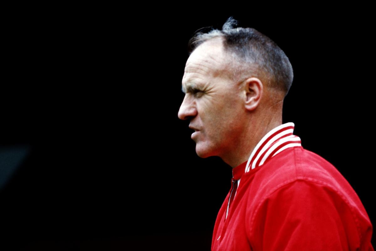 Bill Shankly, Liverpool manager (Peter Robinson/EMPICS Sport)