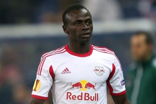 Sadio Mane, Red Bull Salzburg (John Walton/EMPICS Sport)