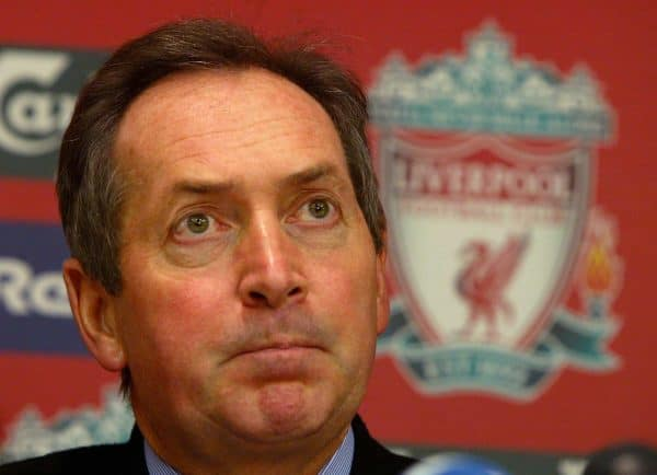 Liverpool manager Gerard Houllier (PA Images)