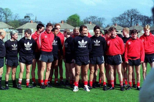 Graeme Souness and his squad