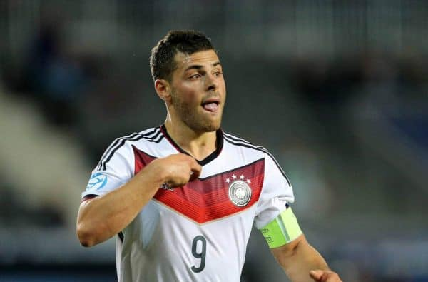 une 20, 2015 - Prague, United Kingdom - Germany's Kevin Volland in action ..Germany v Denmark - UEFA Under 21's - Eden Stadium - Czech Republic - 20th June 2015 - Picture David KleinSportimage.