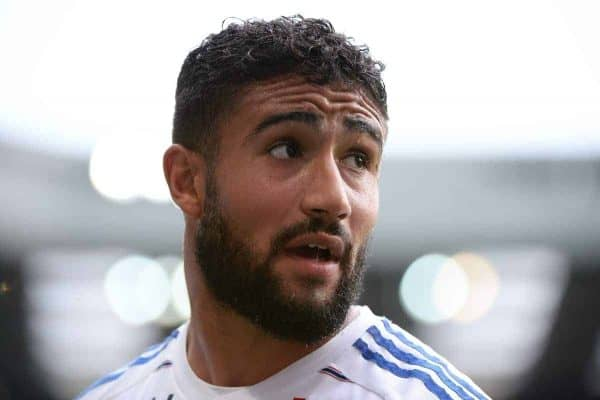 Nabil FEKIR - 29.08.2015 - Caen / Lyon - 4eme journee Ligue 1 Photo : Nolwenn Le Gouic / Icon Sport