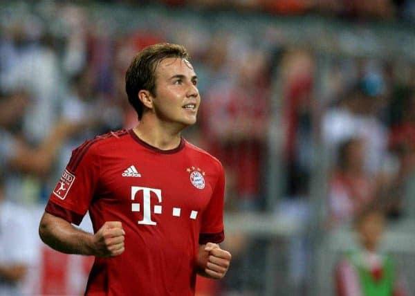 Mario Gotze, Bayern Munich - Picture by: John Walton / EMPICS Sport