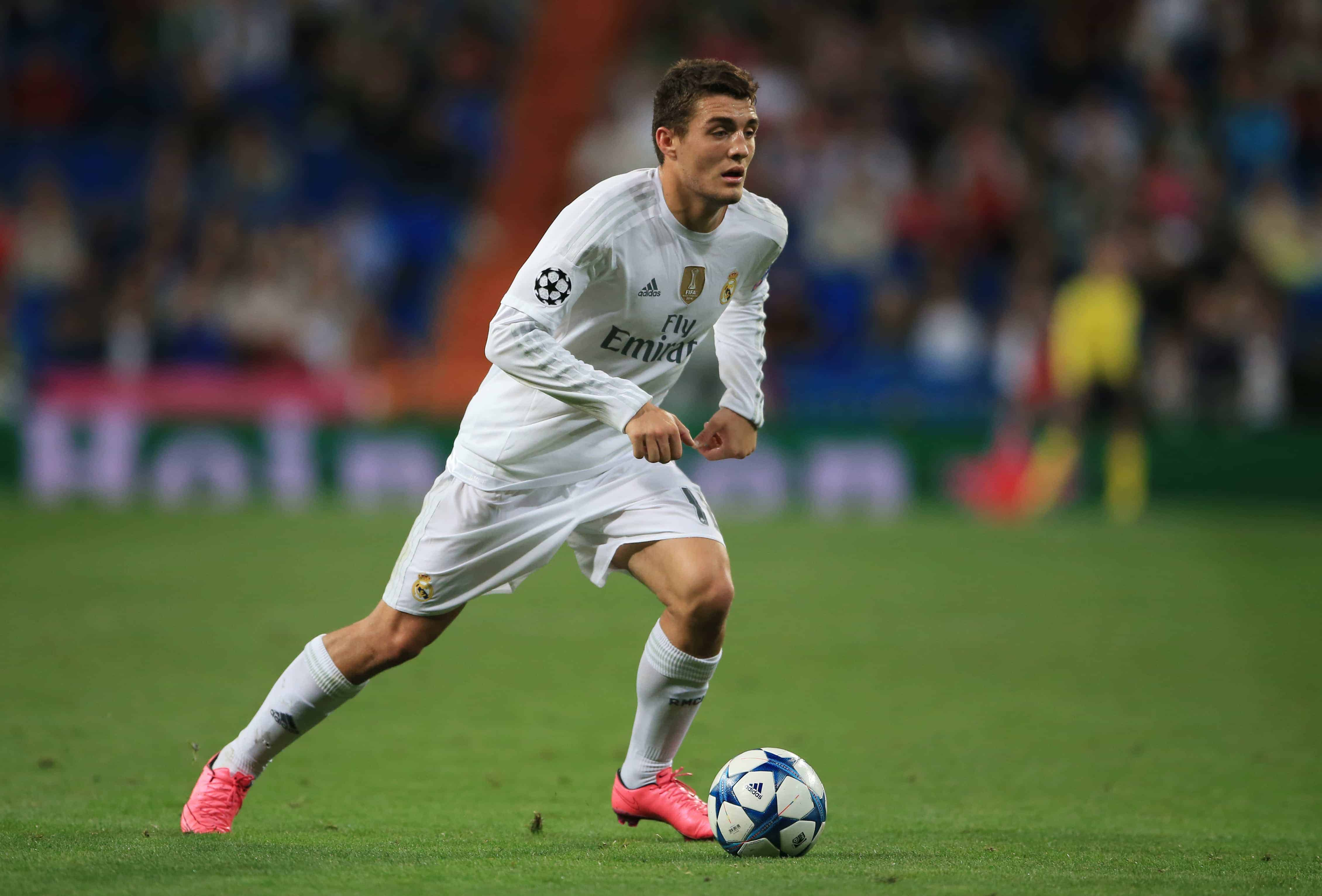 Mateo Kovacic Croatian Real Madrid Football Player