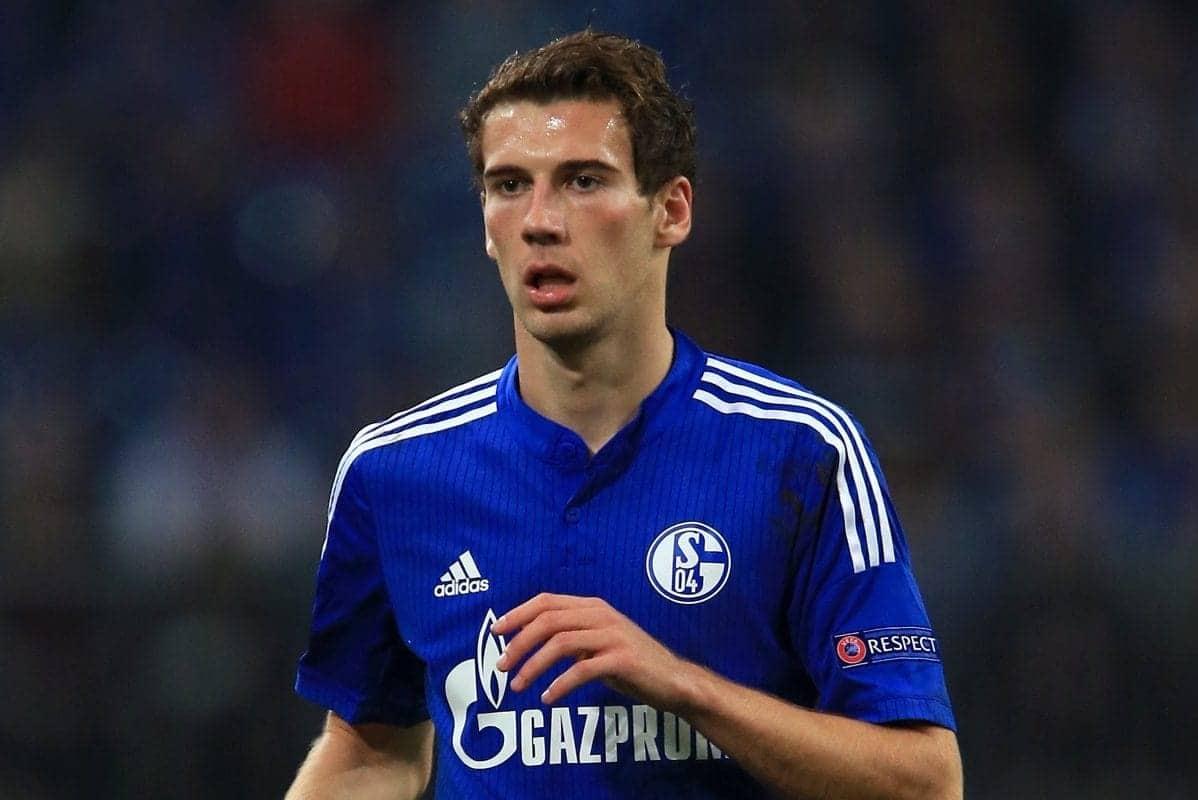 Schalke's Leon Goretzka - John Walton/EMPICS Sport