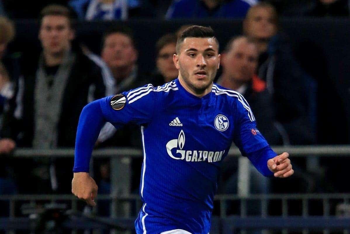 Schalke's Sead Kolasinac - Picture by John Walton EMPICS Sport