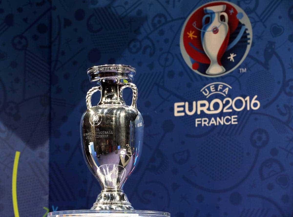 The European Championship trophy Eurp 2016 (AP Photo/Christophe Ena)