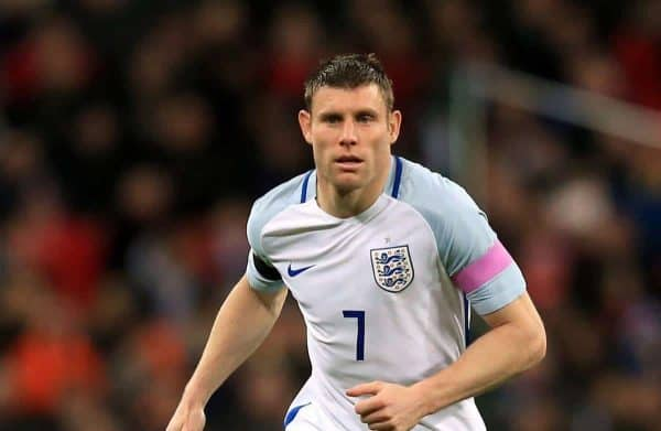 James Milner, England (Picture by: Adam Davy / PA Archive/Press Association Images)