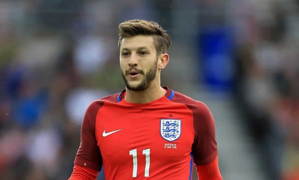 Tim Goode / PA Wire/Press Association Images England's Adam Lallana during the International Friendly at the Stadium of Light, Sunderland.