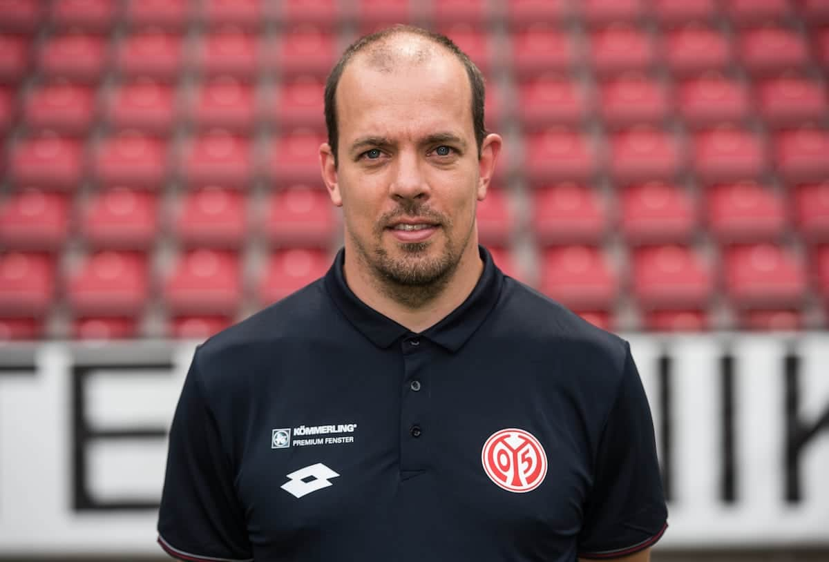 German Bundesliga - Season 2016/17 - Photocall FSV Mainz 05 on 25 July 2016 in Mainz, Germany: Physiotherapist Christopher Rohrbeck. Photo: Andreas Arnold/dpa | usage worldwide