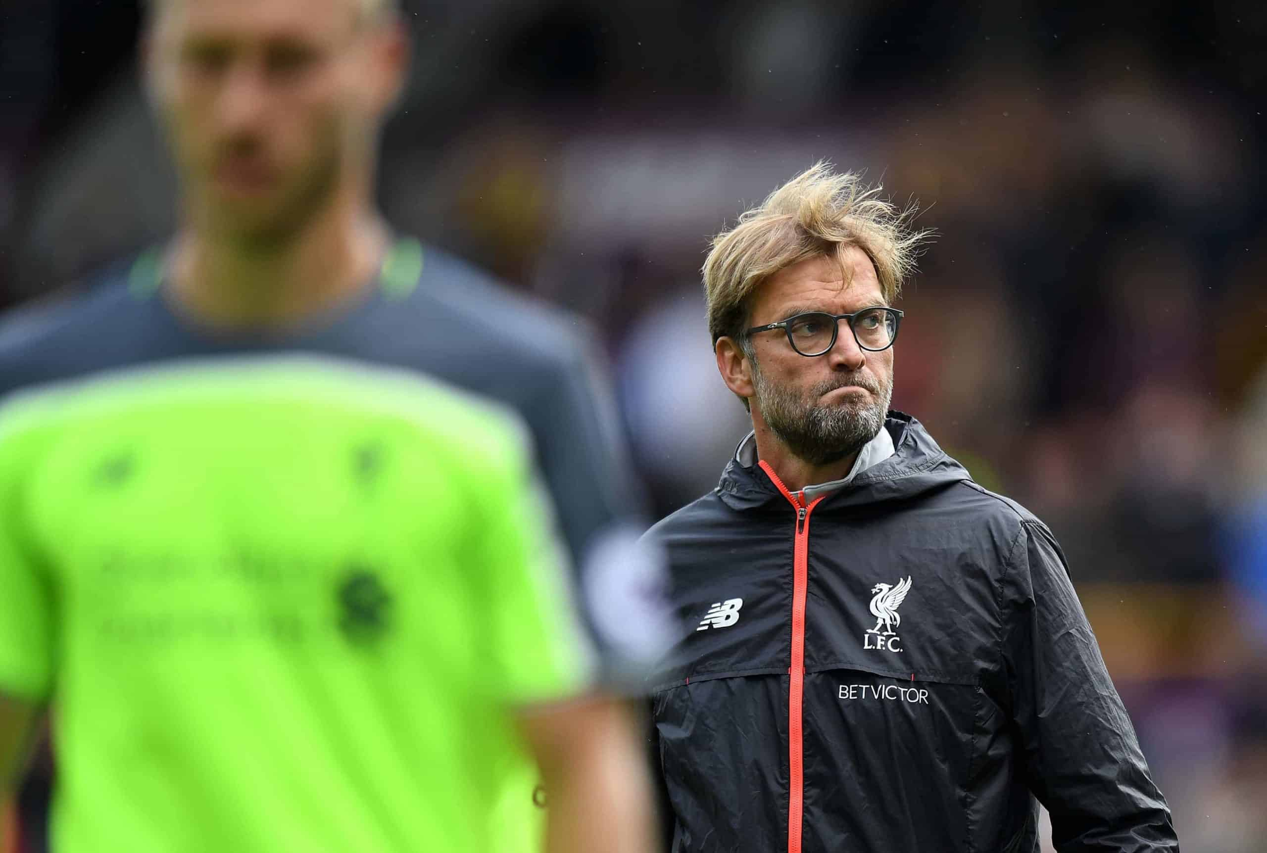 Liverpool manager Jurgen Klopp after the Premier League match at Turf Moor, Burnley.