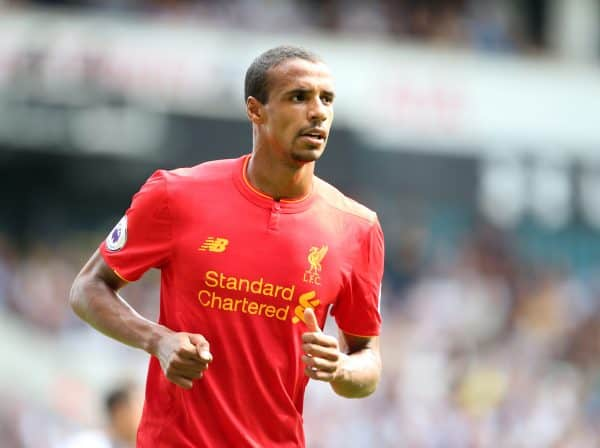 Liverpool's Joel Matip in action during the Premier League match at White Hart Lane Stadium, London. Picture date August 27th, 2016 Pic David Klein/Sportimage via PA Images