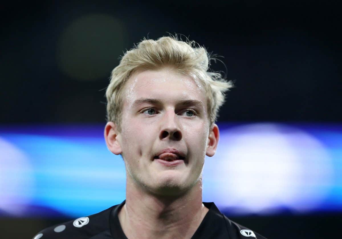 Leverksen's Julian Brandt in action during the Champions League group E match at the Wembley Stadium, London. Picture date November 2nd, 2016 Pic David Klein/Sportimage