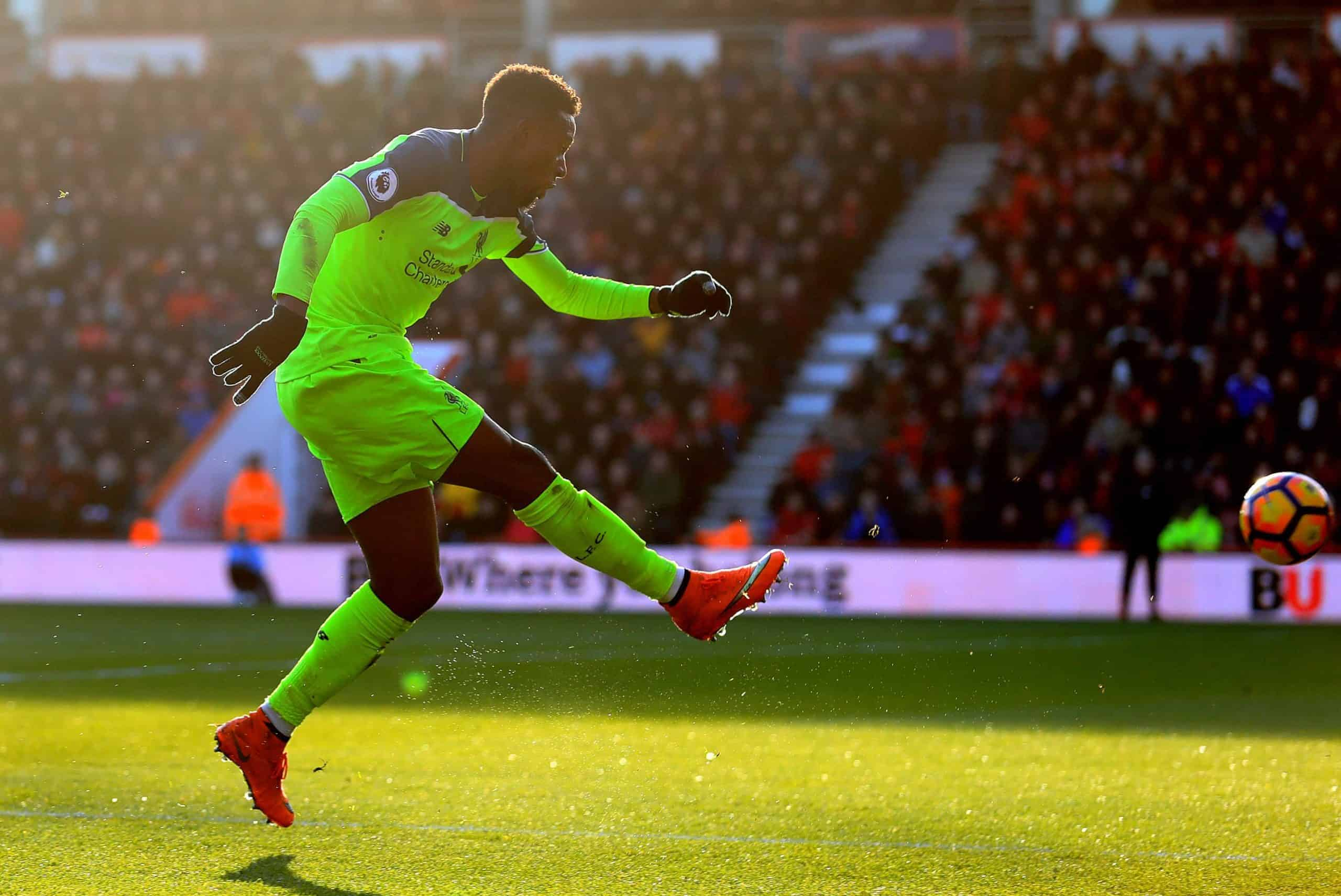 Liverpool's Divock Origi scores his side's second goal of the game during the Premier League match at the Vitality Stadium, Bournemouth. 2016. (Picture by Adam Davy PA Wire/PA Images)