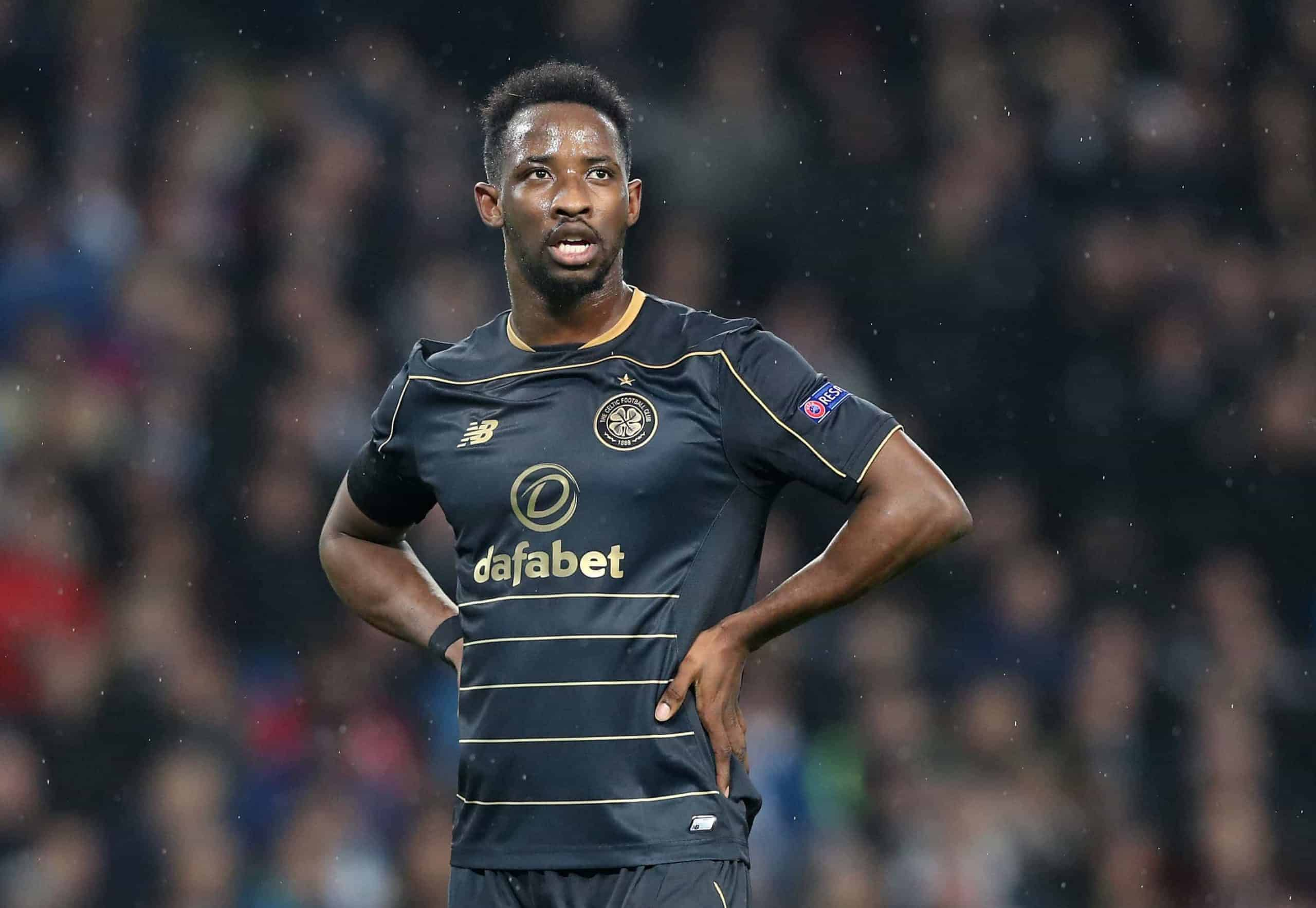 Celtic's Moussa Dembele during the UEFA Champions League, Group C match at the Etihad Stadium, Manchester. PRESS ASSOCIATION Photo. Picture date: Tuesday December 6, 2016. Photo: Martin Rickett/PA Wire