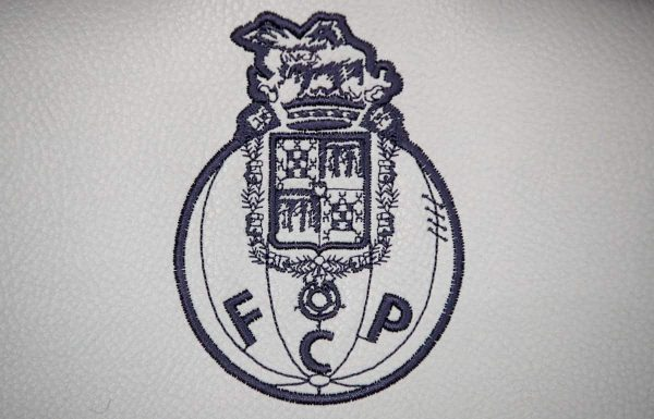 A general view of FC Porto's club crest