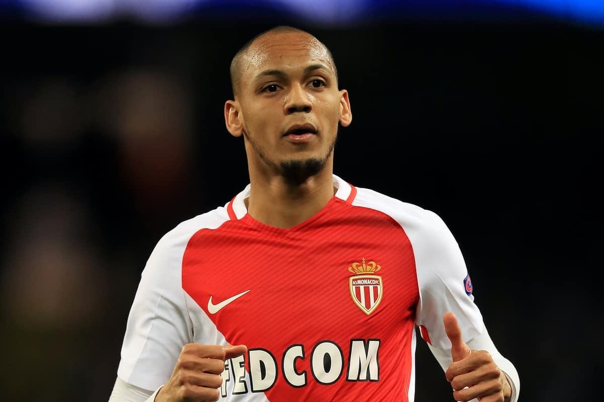 AS Monaco's Fabinho (Mike Egerton/EMPICS Sport)