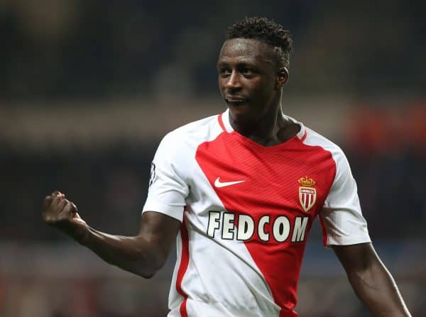 Benjamin Mendy of AS Monaco celebrates during the UEFA Champions League Round of 16 2nd Leg match at the Stage Louis ll (Picture: David Klein/Sportimage via PA Images)
