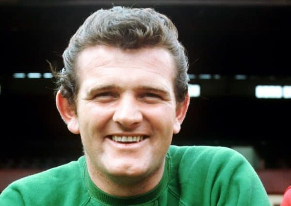 Tommy Lawrence, Liverpool goalkeeper (Peter Robinson/EMPICS Sport)