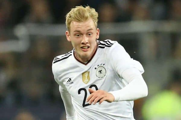 Germany's Julian Brandt March 2017 (Adam Davy/EMPICS Sport)