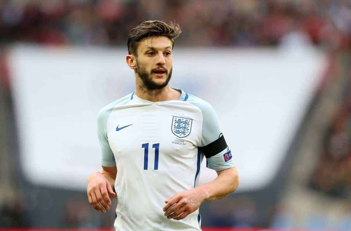 Adam Lallana, England National Team (Pic by David Rawcliffe/Propaganda)
