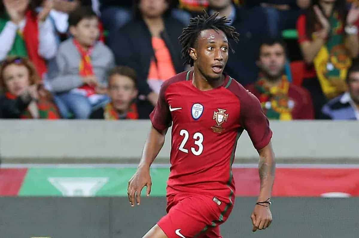 Portugals forward Gelson Martins during the FIFA 2018 World Cup friendly match between Portugal v Sweden at Estadio dos Barreiros on March 28, 2017 in Funchal, Madeira, Portugal. (Photo by Bruno Barros / DPI / NurPhoto )