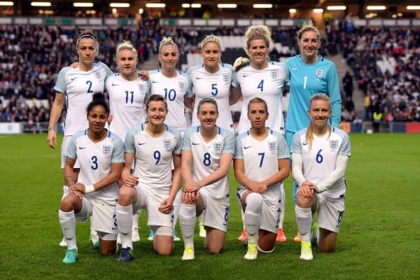 England womens team (Joe Giddens/PA Wire/PA Images)
