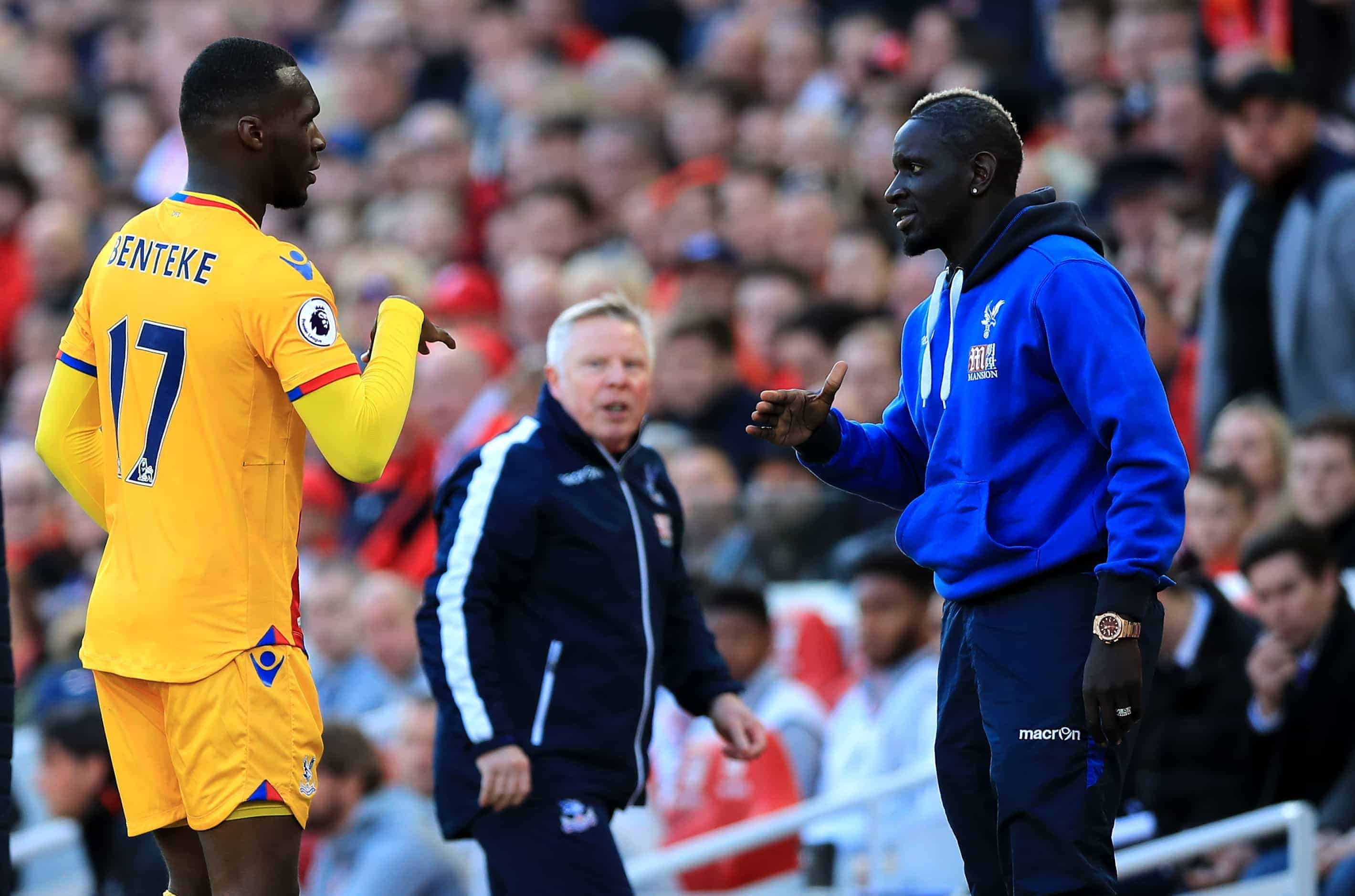 Christian Benteke tried to convince Mamadou Sakho to sign for